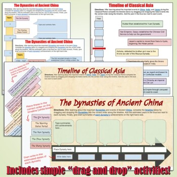 Classical Asia Digital Interactive Notebook