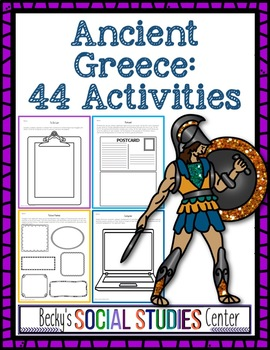 Interactive Notebook for Ancient Greece - 44 Student-Centered Activities