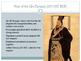 Classical China Powerpoint- Advanced- Zhou Qin Han