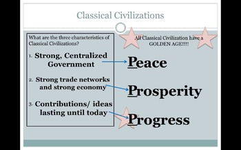 Classical Civilizations Global Review PPT