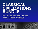 Ancient Greece and Rome Super Bundle - 6 PowerPoints 4 Vid