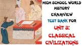 Classical Civilizations Test Bank for World History (Examview)