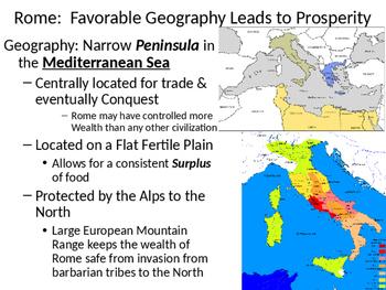 Classical Civilizations PowerPoint:  The Roman Empire