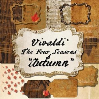 Classical Clips: Vintage Clip Art Based on Vivaldi's The Four Seasons: Autumn