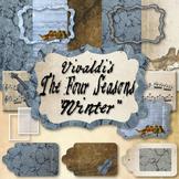 Classical Clips: Vintage Clip Art Based on Vivaldi's The Four Seasons: Winter