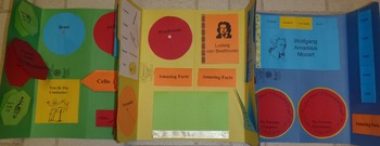 Classical Composer & Instruments Lapbook