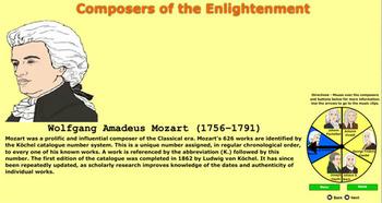 Classical Composers using Flash - Bill Burton