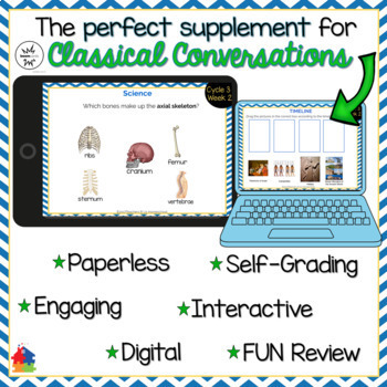 Classical Conversations Cycle 3 Week 2 Interactive Review Cards