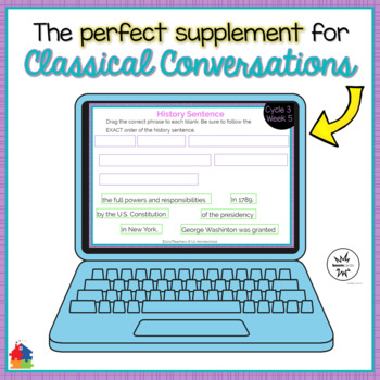 Classical Conversations Cycle 3 Week 5 Interactive Review Cards