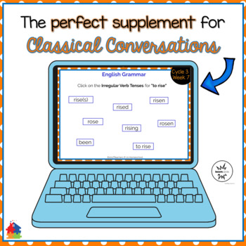 Classical Conversations Cycle 3 Week 7 Interactive Review Cards