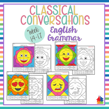 Classical Conversations English Grammar Emoji [Weeks 14-17]