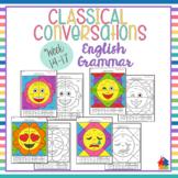 Classical Conversations English Grammar Emoji [Cycle 3- 4th Ed Weeks 14-17]