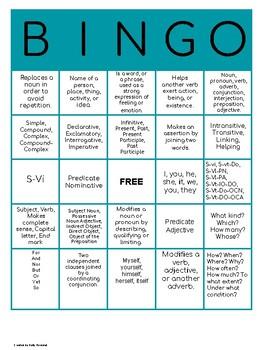 Classical Conversations Essentials Bingo Review Game