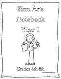 Classical Conversations Fine Arts Notebook Year 1 Grades 3-6