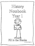 Classical Conversations History Notebook Fill in the Blank