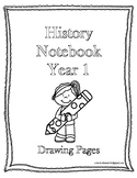 Classical Conversations History Notebook w/ Drawing Year 1