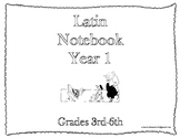 Classical Conversations Latin Notebook Year 1 Grades 3-6