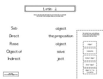 Classical Conversations Latin Notebook Year 1 Grades K-3