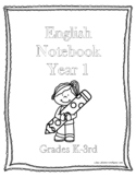 Classical Conversations Notebook English Year 1 Grades K-3