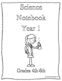 Classical Conversations Science Notebook Year 1 Grades 3-6