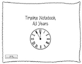 Classical Conversations Timeline Notebook +Presidents Grades 3-6