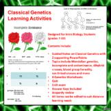 Classical Genetics Learning Activities (Mendelian and Beyond Mendel)
