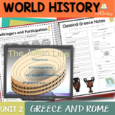 Classical Greece and Ancient Rome Interactive Notebook Bun