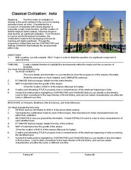Classical India Partner Timeline OR Brochure