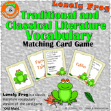 Traditional and Classical Literature Vocabulary- Matching Game F