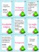 Classic Literature Vocabulary Game-Vocabulario de literatura clásica-Spanish P