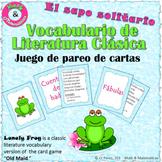 Classical Literature Vocabulary Game-Vocabulario de literatura clásica-Spanish P