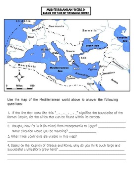 Classical Mediterranean Civilization  Skills Packet