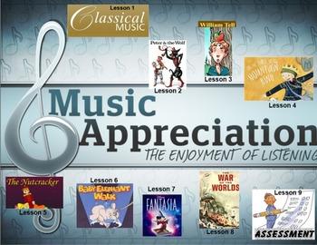 Classical Music Appreciation (Whole term program inc. assessment)