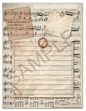 Classical Music Composers Notebooking Journal Pages