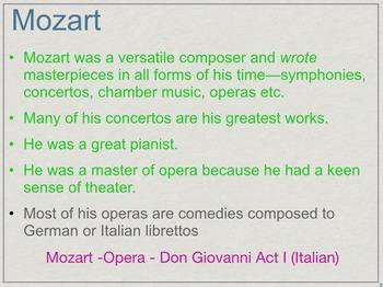 Classical Music Introduction Presentation - Keynote Version (Mac)