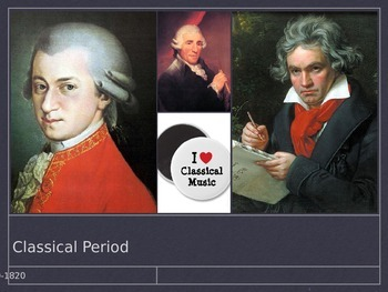 Classical Music Introduction Presentation - Powerpoint Version