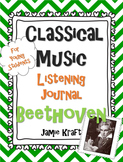 Classical Music Listening Journal: Beethoven