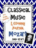 Classical Music Listening Journal: Mozart