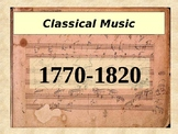 Classical Music Powerpoint with emphasis on composers