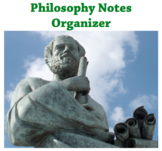 Philosophy Investigation Notes (Graphic Organizer)
