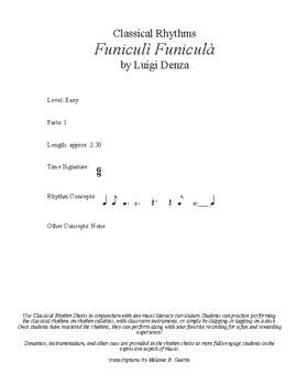 Classical Rhythms- Funiculi Funicula