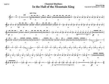 Classical Rhythms- In the Hall of the Mountain King