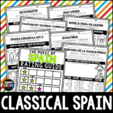 Classical Spain, Spanish Composers, Hispanic Heritage Month, September, October