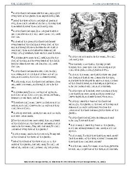Classical Teaching Textbook, Bible, Lesson 2