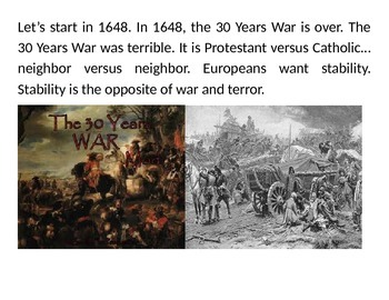 World History from 1648-1917