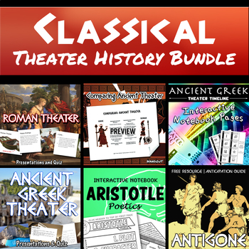 Classical Theater History Bundle (Greek and Roman Theater)