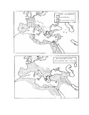 """Classical World: Rome: """"Rome Republic and Empire Outline Maps"""""""