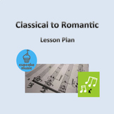 Classical to Romantic Lesson Plan