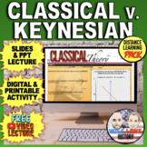 Classical vs. Keynesian Theories Bundle