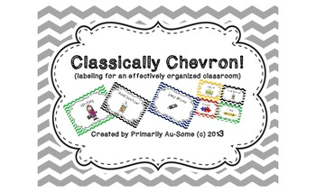 Classically Chevron!  (Labels for an effectively organized